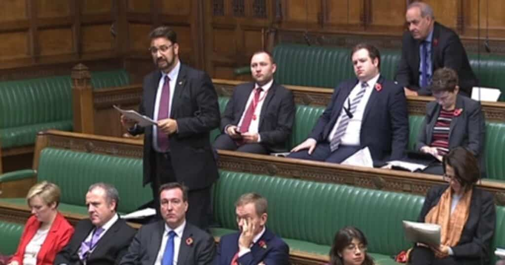 Speaking against the Nationality and Borders Bill