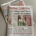 'We must champion British principles and confront China whatever the cost' argues Esther McVey in today's Daily Express
