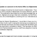 Afghanistan Constituent Advice - Dawn Butler